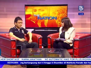 BERNAMA TV Interviews Founder of Women's Self-Defense & Wellness Community